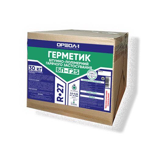 Герметик бітумно-полімерний «БП-Г25» 20-25 кг